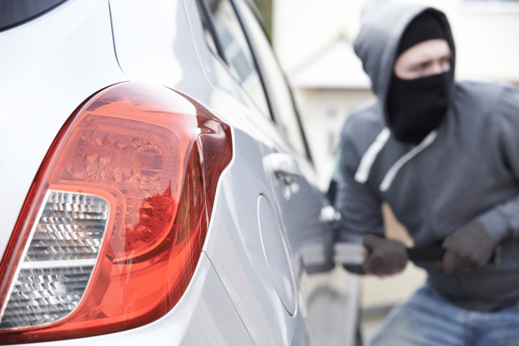 Where car thefts are most common