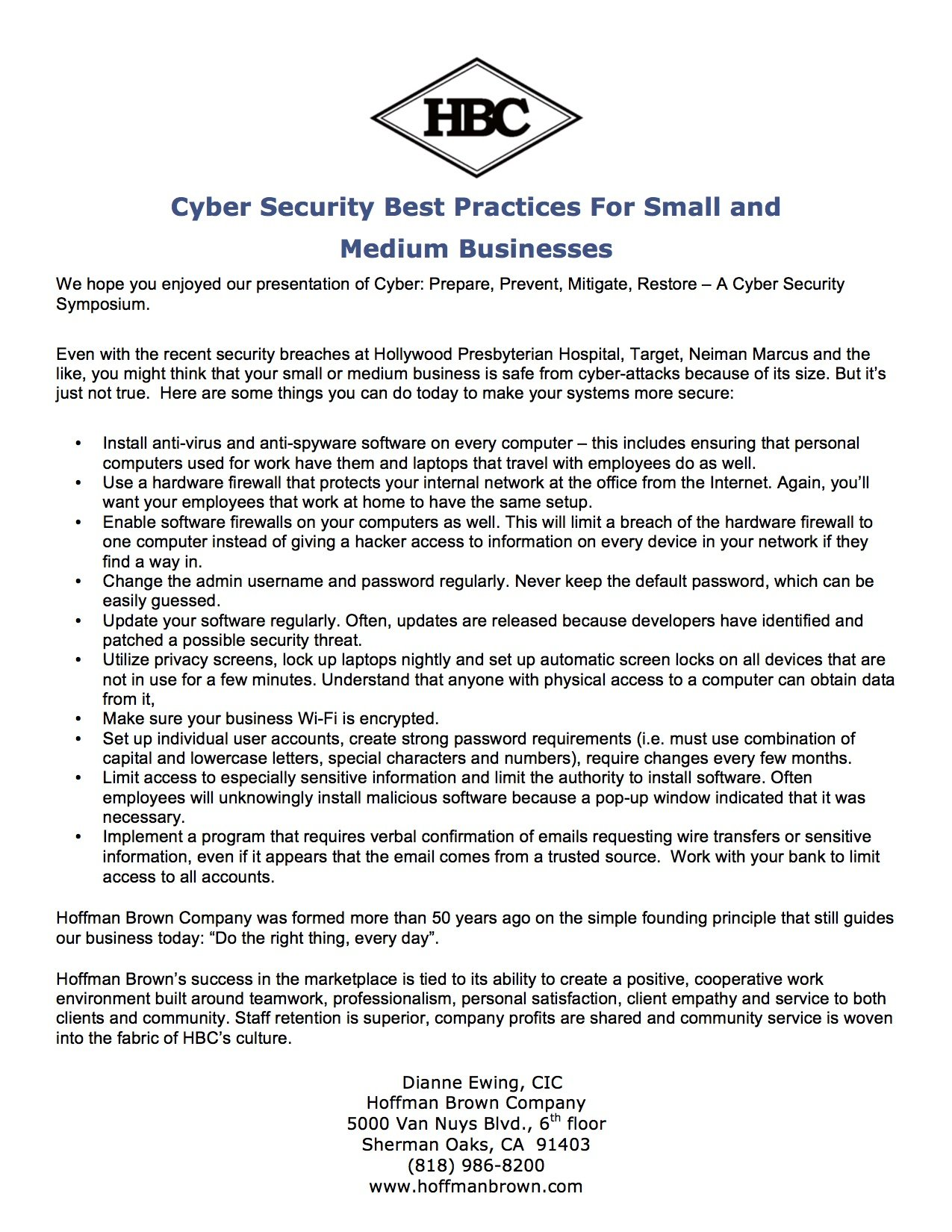 Cyber Security Best Practices copy