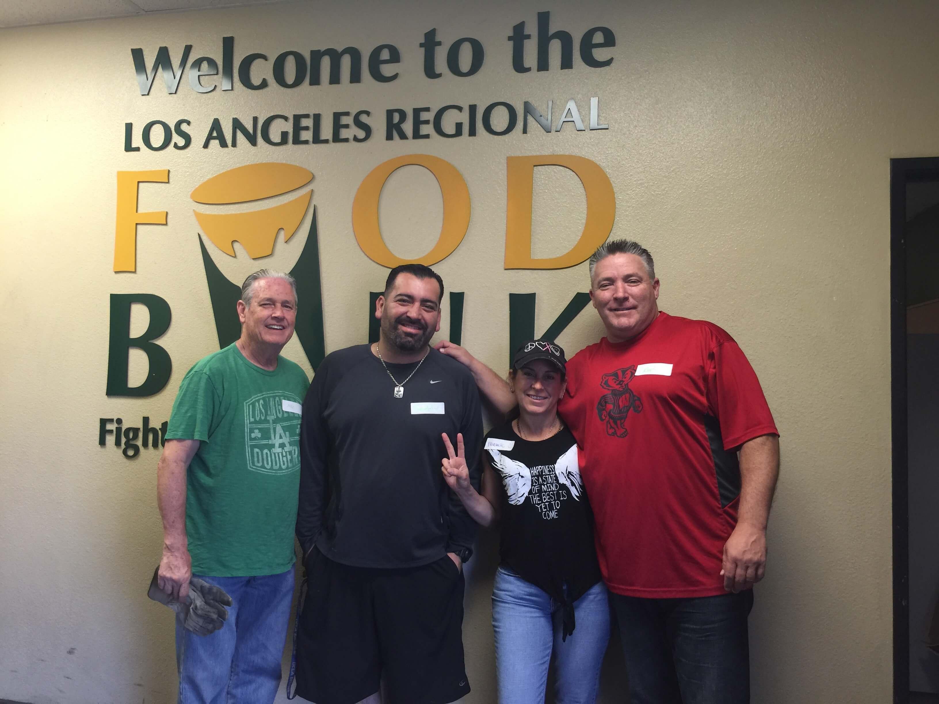Hoffman Brown Volunteers at LA Regional Food Bank