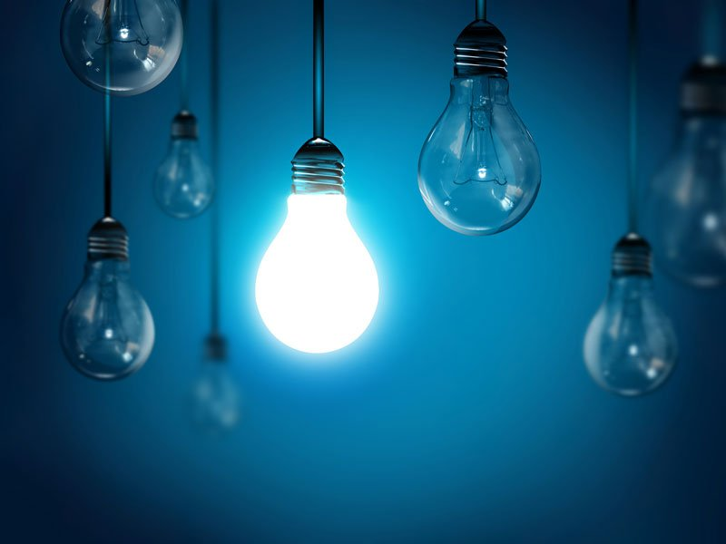 Intellectual Property Insurance: Everything You Need to Know a lightbulb shining brightly to represent a good idea