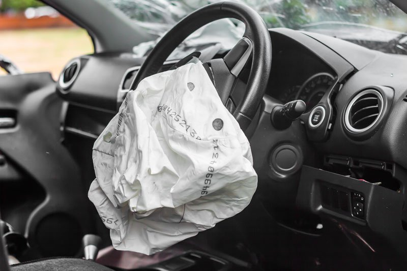an airbag