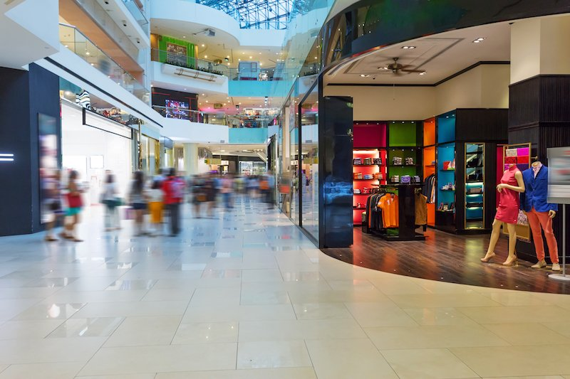 a shopping mall How to Use Public Wi-Fi Safely