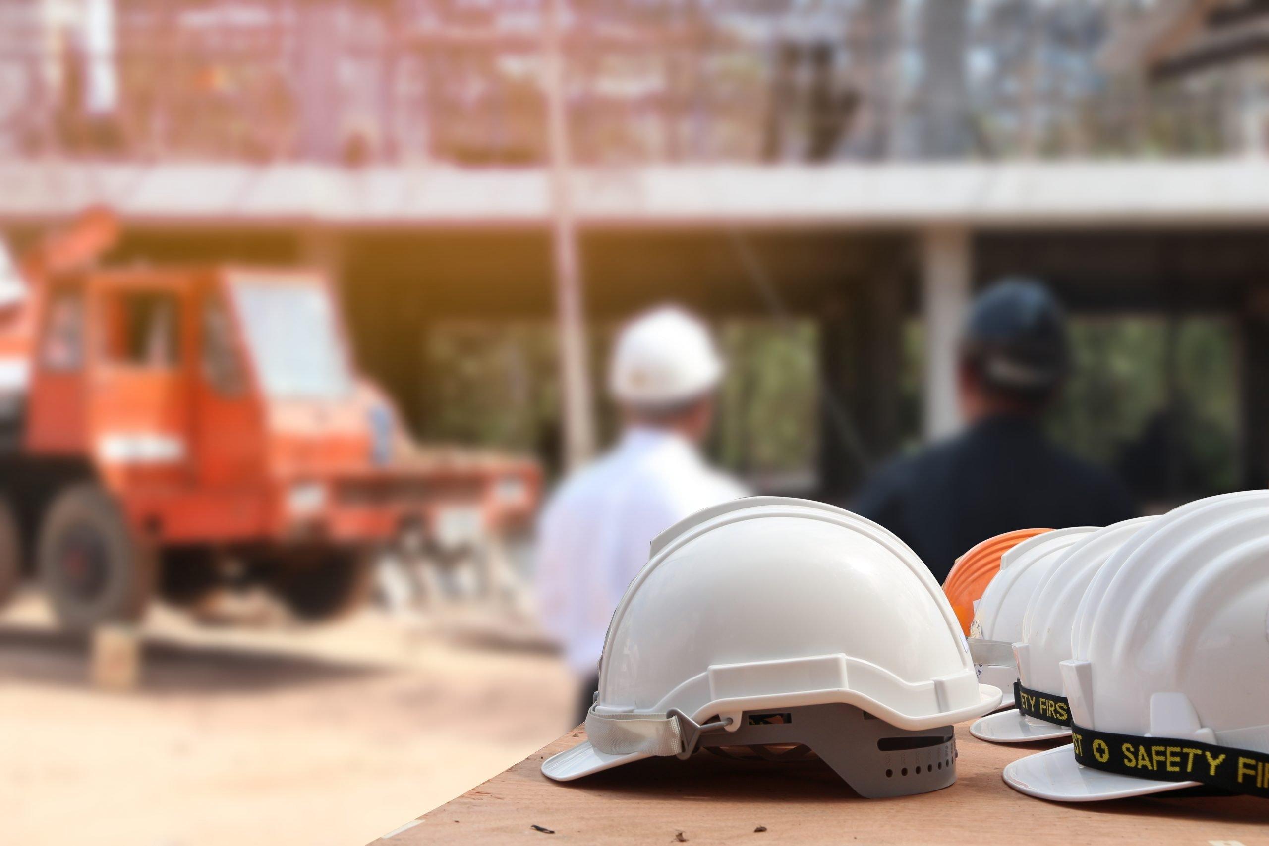 construction workers helmet